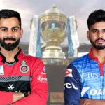 DC Vs RCB : Delhi Capitals Won the Match By 6 Wickets