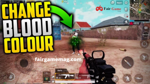 How To Change Blood Colour In Pubg Mobile: setting pubg mobile