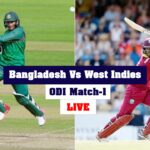 Bangladesh Defeated West Indies ODI Match 1: Score & Commentary