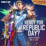 How to get Free Fire Characters for Free on the Republic Day Event