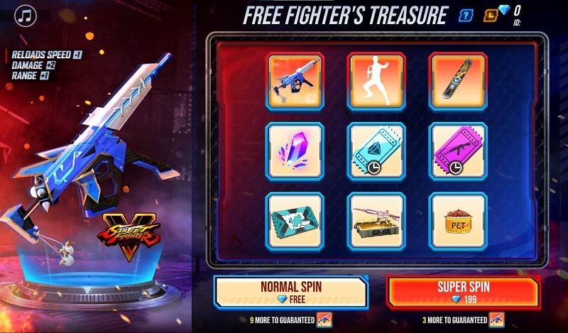 Free Fire MP5 event