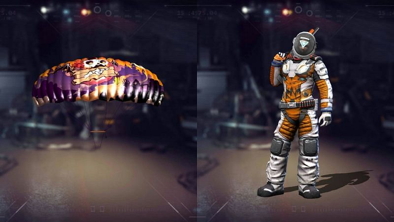 Astronaut Pack and Parachute Free Fire Free Reward