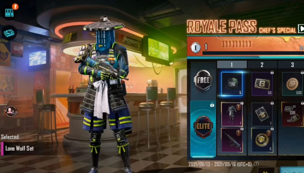 BGMI RP 3 Mythic Outfit 1