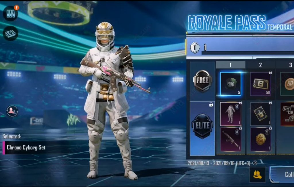 Roayl Pass M4 Mythic Outfit 1