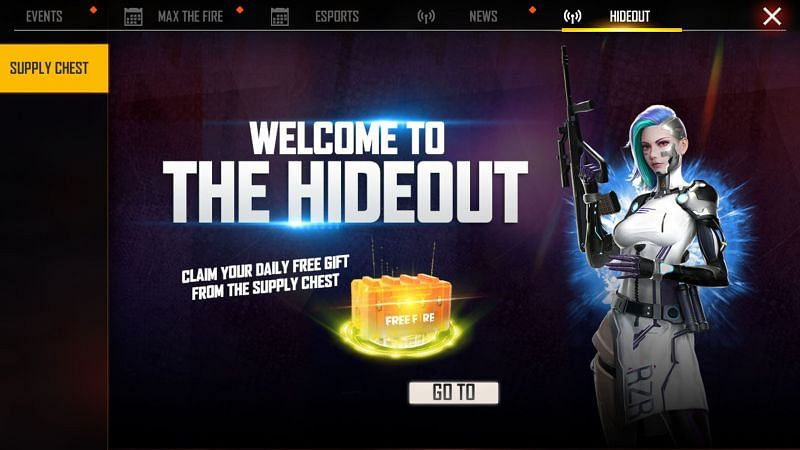 How to get free rewards in Free Fire from new Supply Chest everyday?